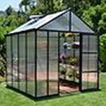 Greenhouses price comparison Palram Glory 6m² Aluminum Polycarbonate
