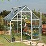 Freestanding Greenhouses - Polycarbonate Palram Harmony 3.4m² Aluminum Polycarbonate