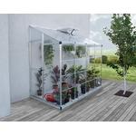 Lean-to Greenhouses - Rectangular Palram Hybrid Grow House 3m² Aluminum Polycarbonate