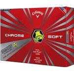 Golf ball - Yellow Callaway Chrome Soft Truvis (12 pack)