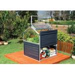 Aluminum - Mini Greenhouses Palram Clear Plant Inn 1.3m² Aluminum Polycarbonate
