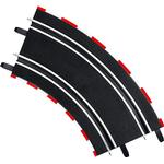 Train Accessories - Plasti Carrera Curve 2/45 Degrees