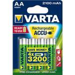 Batteries price comparison Varta Accu AA 2100mAh 4-pack