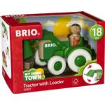 Wood - Tractor Brio Tractor with Loader 30307