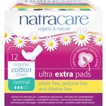 Organic - Menstrual Pads Natracare Ultra Extra Pads Normal 12-pack