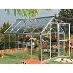 Freestanding Greenhouses - Polycarbonate Palram Harmony 5.7m² Aluminum Polycarbonate