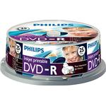 DVD on sale Philips DVD-R 4.7GB 16x Spindle 25-Pack Inkjet