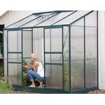 Lean-to Greenhouses - Rectangular Vitavia IDA Vægdrivhus 3.3m² Aluminum Polycarbonate