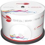 CD Primeon CD-R 700MB 52x Spindle 50-Pack