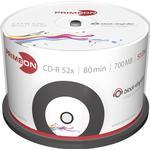 CD Primeon CD-R 700MB 52x Spindle 50-Pack Inkjet