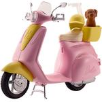 Doll Vehicles - Plasti Barbie Scooter & Puppy