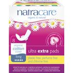 Organic - Menstrual Pads Natracare Ultra Extra Pads Long 8-pack