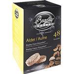 BBQ Accessories Bradleysmoker Alder Flavour Bisquettes BTAL48