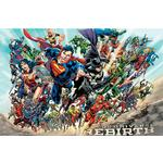 Kid's Room EuroPosters Justice League Rebirth Poster V35669 91.5x61cm