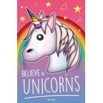 Posters Kid's Room EuroPosters Emoji Believe in Unicorns Poster V33106 61x91.5cm