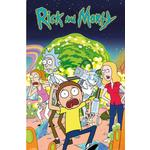 Interior Decorating Kid's Room EuroPosters Rick & Morty Group Poster V33233 61x91.5cm