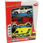 Fire fighter - Car Dickie Toys SOS Team Set