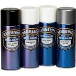 Metal Paint Hammerite Smooth Effect Metal Paint Black 0.4L