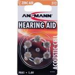 Hearing Aid Batteries Hearing Aid Batteries price comparison Ansmann 312