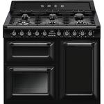 Dual Fuel Cooker - 100 cm Dual Fuel Cooker price comparison Smeg TR103BL Black