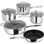 Frying Pan Frying Pan price comparison Stellar 7000 Stainless Steel Set with lid 5 parts
