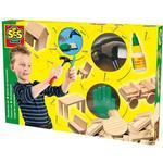 Construction Kit - Wood SES Creative Woodwork Set 00943