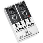 DI unit(direct injection) for studio Behringer Ultra-DI DI20