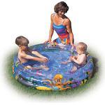 Paddling Pool - Ocean Bestway Ocean Life Kids Paddling Pool 122x25cm