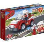 Construction Kit - Fire fighter Banbao Firemen Car 7117