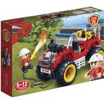 Construction Kit - Fire fighter Banbao Fire Jeep 7106