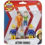 Fireman Sam Toys Character Fireman Sam Action Figures 5 Pack