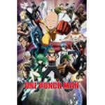 Kid's Room EuroPosters One Punch Man Collage Poster V31633 61×91.5cm
