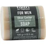 Bar Soap Faith in Nature For Men Blue Cedar Bar Soap 100g