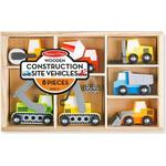 Wood - Lorry Melissa & Doug Wooden Construction Site Vehicles
