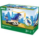 Toy Helicopter - Wood Brio Police Helicopter 33828