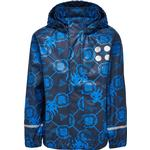 Removable hood - Rain jackets Children's Clothing Lego Wear Rain Jacket Multi - Dark Navy