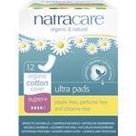 Organic - Menstrual Pads Natracare Ultra Bind Super Plus 12-pack