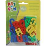 Magnetic Figures - Plasti Simba Art & Fun Magnetic Capital Letters
