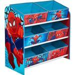 Storage Boxes Kid's Room Worlds Apart Hello Home Spider-Man Multi Storage Unit