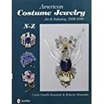 Jewelry art Books AMERICAN COSTUME JEWELRY: Art and Industry, 1935-1950, N-Z: 2