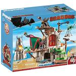 Play Set Play Set price comparison Playmobil Dragons Berk Island Fortress with Firing Cannons 9243