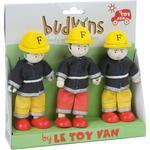 Fireman Sam - Toy Figures Le Toy Van Firefighter Triple Pack