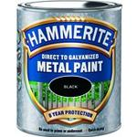 Paint price comparison Hammerite Direct to Galvanised Metal Paint Black 0.75L