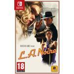 Crime Nintendo Switch Games L.A. Noire
