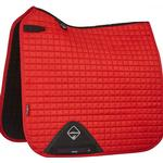 Purple - Saddle Pads LeMieux Luxury Prosport Suede