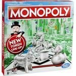 Family Board Games - Roll-and-Move Hasbro Monopoly Classic