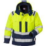 Wind and Waterproof - Warning Jacket Fristads Kansas 4035 GTT High Vis Airtech Winter Jacket
