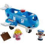 Toy Airplane - Plasti Fisher Price Little People Travel Together Airplane
