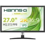 """IPS - 2560x1440 pixels Monitors price comparison Hannspree HQ272PPB 27"""""""