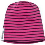 Stripes - Beanies Children's Clothing Geggamoja Topline Mössa - Cerise/Marine